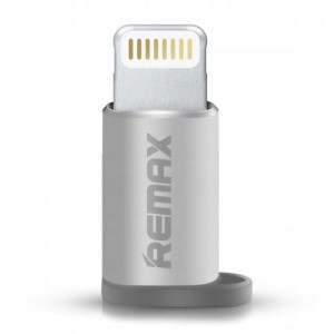Adapter micro USB - Srebrny